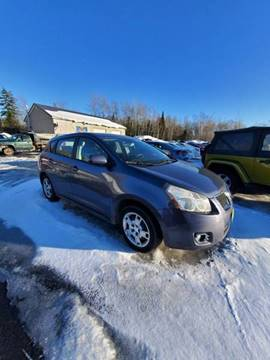 2010 Pontiac Vibe AWD for sale at Jeff's Sales & Service in Presque Isle ME