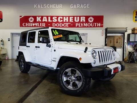 2016 Jeep Wrangler Unlimited for sale in Cross Plains, WI