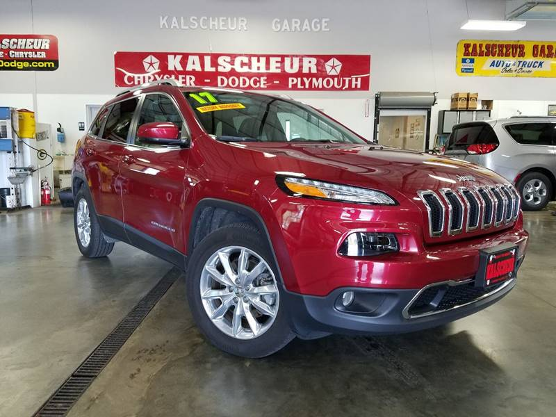 2017 Jeep Cherokee for sale at Kalscheur Dodge Chrysler Ram in Cross Plains WI