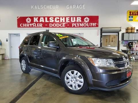 2016 Dodge Journey for sale at Kalscheur Dodge Chrysler Ram in Cross Plains WI