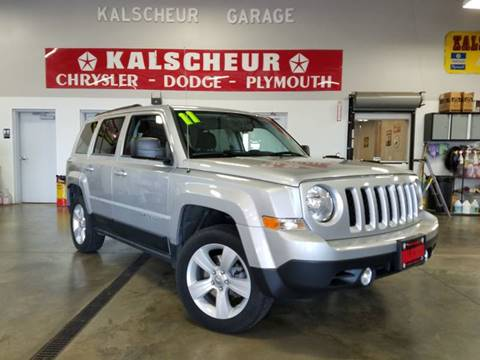 2011 Jeep Patriot for sale at Kalscheur Dodge Chrysler Ram in Cross Plains WI