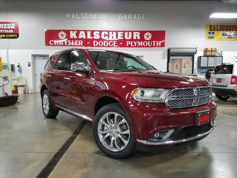 Dodge Durango Citadel In Cross Plains WI Kalscheur Dodge - Dodge chrysler