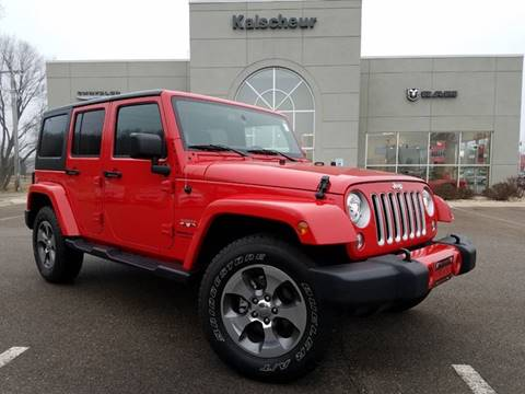 2018 Jeep Wrangler Unlimited for sale in Cross Plains, WI