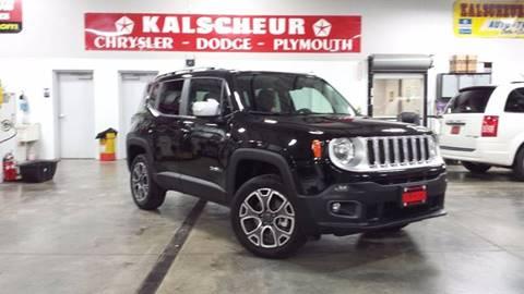 2016 Jeep Renegade for sale at Kalscheur Dodge Chrysler Ram in Cross Plains WI