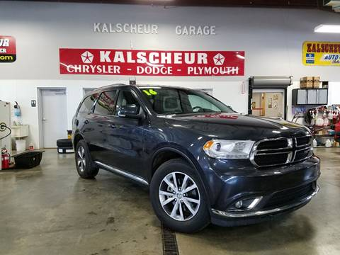 2016 Dodge Durango for sale in Cross Plains, WI