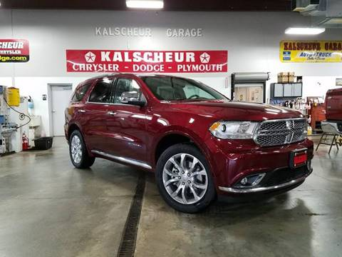 2017 Dodge Durango for sale in Cross Plains, WI