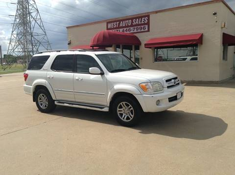 2005 Toyota Sequoia for sale in Fort Worth, TX