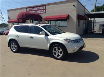2004 Nissan Murano for sale in Fort Worth, TX