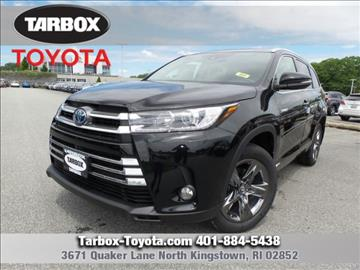 2017 Toyota Highlander Hybrid for sale in North Kingstown, RI