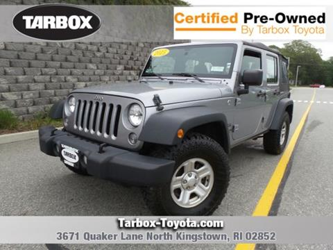 2015 Jeep Wrangler Unlimited for sale in North Kingstown, RI