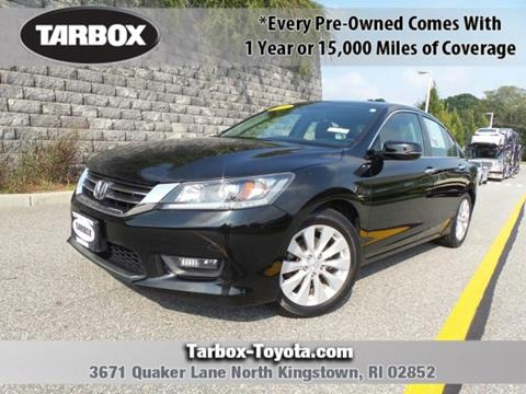 2014 Honda Accord for sale in North Kingstown, RI