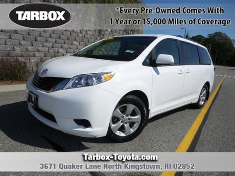 2014 Toyota Sienna for sale in North Kingstown, RI