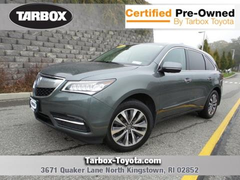 2016 Acura MDX for sale in North Kingstown, RI