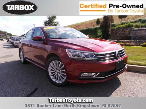 2016 Volkswagen Passat for sale in North Kingstown, RI