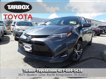 2017 Toyota Corolla for sale in North Kingstown, RI