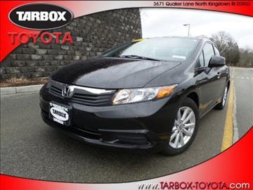 2012 Honda Civic for sale in North Kingstown, RI