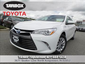 2017 Toyota Camry Hybrid for sale in North Kingstown, RI