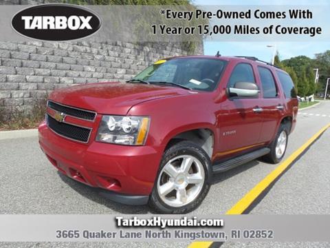 2007 Chevrolet Tahoe for sale in Warwick, RI