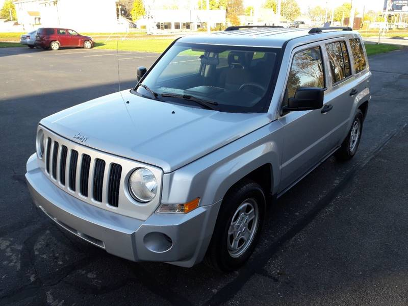 2008 Jeep Patriot For Sale At Anderson Auto Plaza In Anderson IN