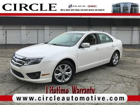 2012 Ford Fusion for sale in Highland, IN