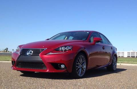 2015 Lexus IS 250 for sale at Jerrys Auto Sales in San Benito TX