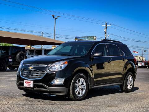 2017 Chevrolet Equinox for sale at Jerrys Auto Sales in San Benito TX