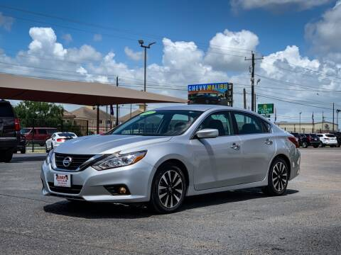 2018 Nissan Altima for sale at Jerrys Auto Sales in San Benito TX