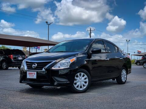 2019 Nissan Versa for sale at Jerrys Auto Sales in San Benito TX