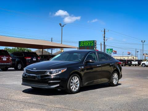 2017 Kia Optima for sale at Jerrys Auto Sales in San Benito TX