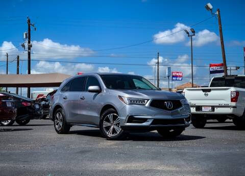 2017 Acura MDX for sale at Jerrys Auto Sales in San Benito TX