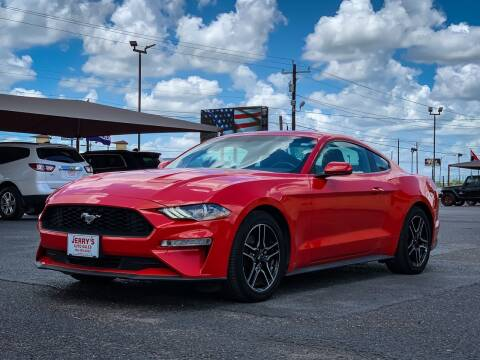 2019 Ford Mustang for sale at Jerrys Auto Sales in San Benito TX