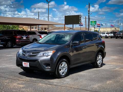 2015 Toyota RAV4 for sale at Jerrys Auto Sales in San Benito TX