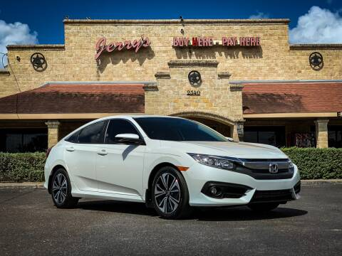 2018 Honda Civic for sale at Jerrys Auto Sales in San Benito TX