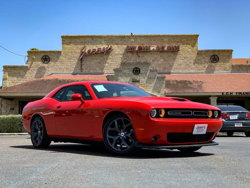 2019 Dodge Challenger for sale at Jerrys Auto Sales in San Benito TX