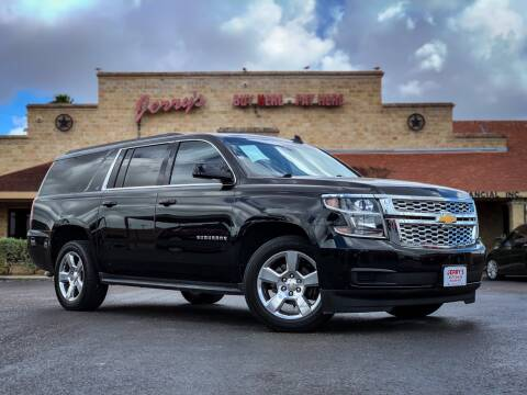 2016 Chevrolet Suburban for sale at Jerrys Auto Sales in San Benito TX
