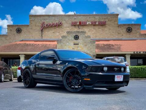 2010 Ford Mustang for sale at Jerrys Auto Sales in San Benito TX