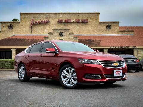 2019 Chevrolet Impala for sale at Jerrys Auto Sales in San Benito TX