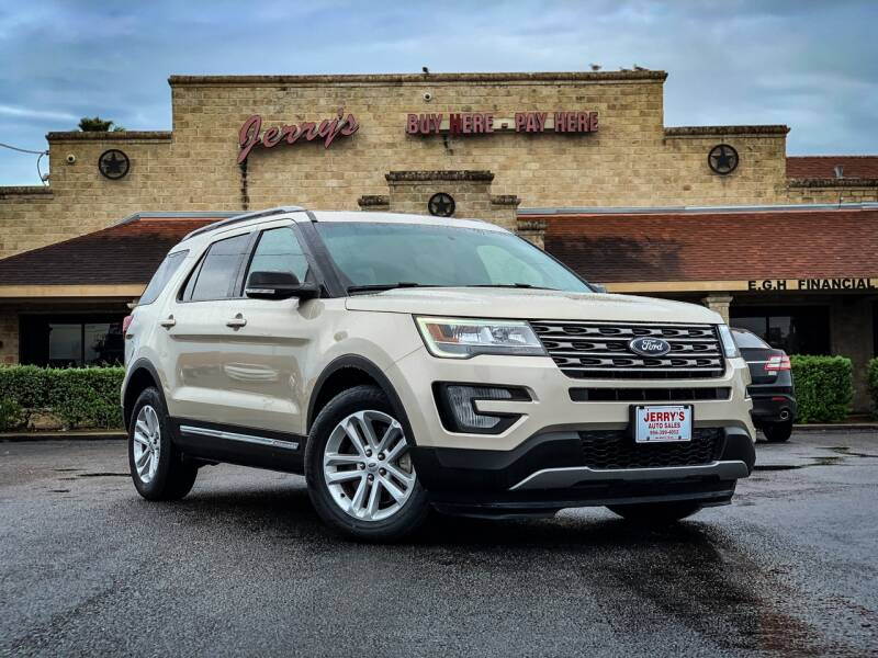2017 Ford Explorer for sale at Jerrys Auto Sales in San Benito TX