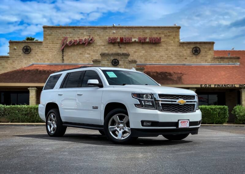 2017 Chevrolet Tahoe for sale at Jerrys Auto Sales in San Benito TX