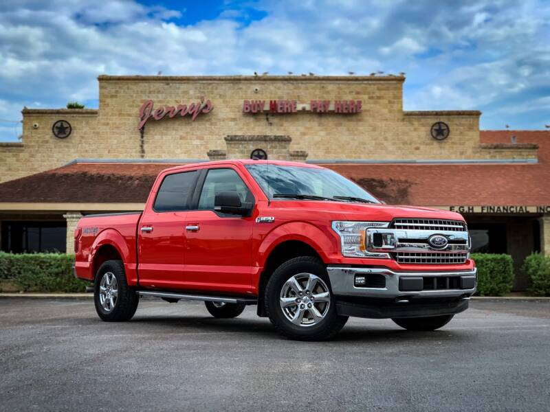 2018 Ford F-150 for sale at Jerrys Auto Sales in San Benito TX
