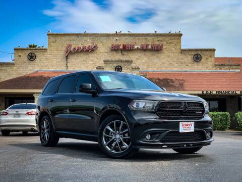 2015 Dodge Durango for sale at Jerrys Auto Sales in San Benito TX