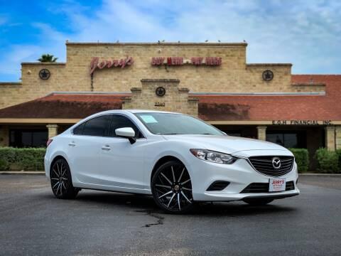 2016 Mazda MAZDA6 for sale at Jerrys Auto Sales in San Benito TX