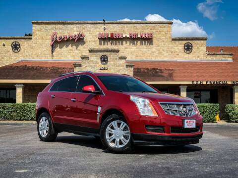2011 Cadillac SRX for sale at Jerrys Auto Sales in San Benito TX