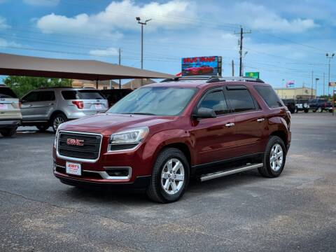 2016 GMC Acadia for sale at Jerrys Auto Sales in San Benito TX