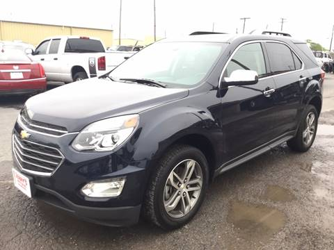 2016 Chevrolet Equinox for sale at Jerrys Auto Sales in San Benito TX