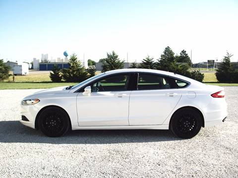 2014 Ford Fusion for sale at B K Auto Inc. in Scott City KS