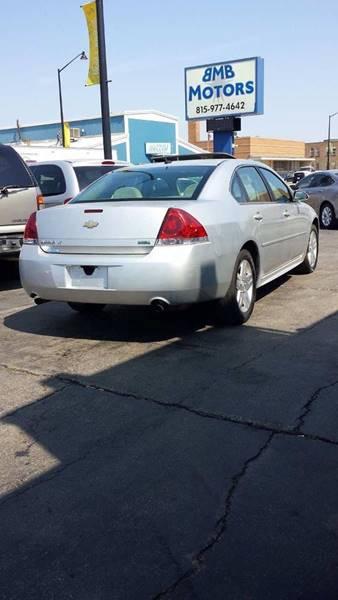 2013 Chevrolet Impala for sale at BMB Motors in Rockford IL