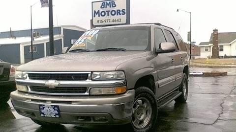 2000 Chevrolet Tahoe for sale at BMB Motors in Rockford IL