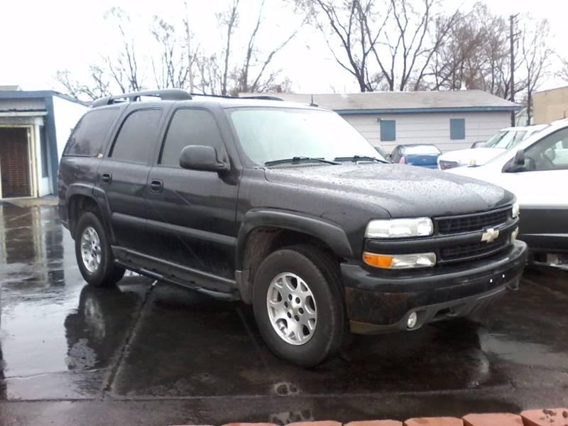 2004 Chevrolet Tahoe for sale at BMB Motors in Rockford IL