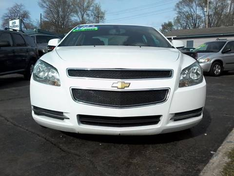 2012 Chevrolet Malibu for sale at BMB Motors in Rockford IL